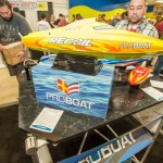 Horizon Hobby also makes boats and had their new Recoil for all to see.