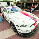Full-size K&N Mustang.
