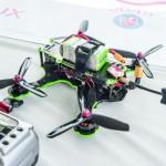 Drone racer's prep area.