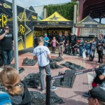 Rockstar Performance Garage was a buzz with their full-size rigs and try-me rock-crawling RC track.