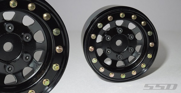SSD 1.55 Steel D Hole Wheels (5)