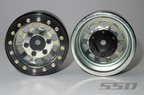 SSD 1.55 Steel D Hole Wheels (6)