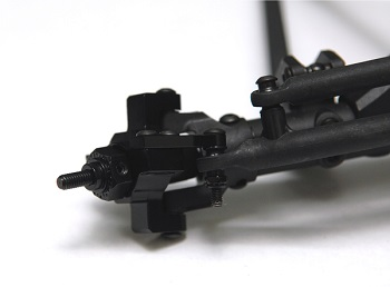 ST Racing Concepts CNC Machined Aluminum Steering Knuckle For The Axial RR10 Bomber, Wraith And Deadbolt