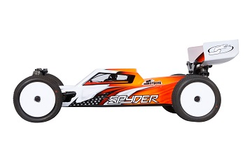 Serpent Spyder SRX4 Aluminum Chassis 4WD 1/10 Off-Road Buggy
