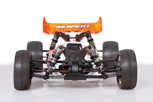 Serpent Spyder SRX4 Aluminum Chassis 4WD 1_10 Off-Roa (2)