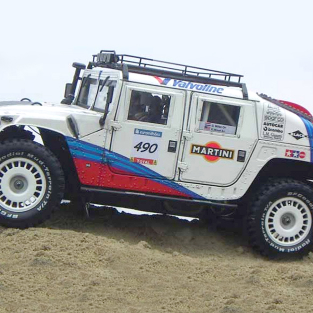 Throwback Thursday: 2007 Readers Ride of the Year Rally Hummer