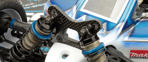 Team Associated RC8B3 Factory Team Front Shock Tower (2)