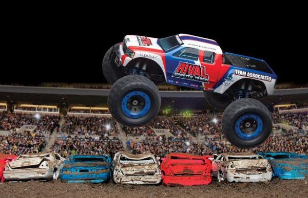 Team Associated RTR Rival Monster Truck Brushless LiPo Combo (2)