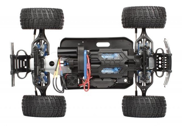 Team Associated RTR Rival Monster Truck Brushless LiPo Combo (8)