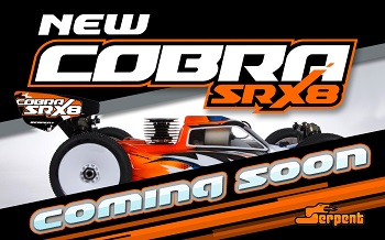 Teaser: Serpent Cobra SRX8 1/8 Nitro Buggy To Be Released Soon [VIDEO]