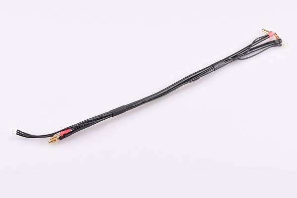 Vampire Racing All-black EH And PQ balance Charging Leads (4)