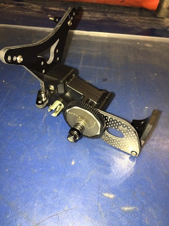 WWHD Laydown Transmission For Team Associated 5M Vehicles