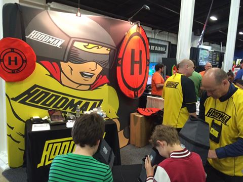 Hoodman Booth at RCX