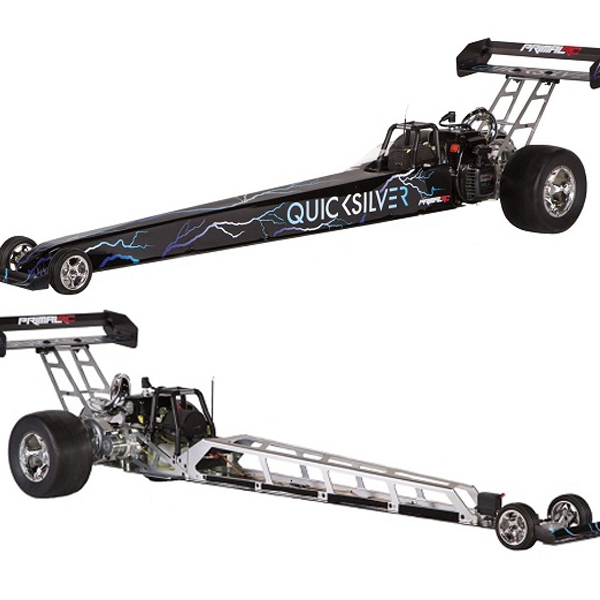 Primal RC's Quicksilver 1/5 Scale RTR Dragster is 5 Feet of Gas-Racing Action