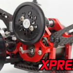 Motor mount allows for a Large Tuning Window for different gear ratios.