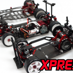 Here is a comparison between the wheelbase of the Xpress Xpresso K1 (Closest), Xpress Mini Road Runner 2 (MRR2) AWD M-Chassis (In the middle) and the Legendary Road Runner Touring Car (Furthest Away).