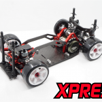 Full Carbon Lower Chassis, lower deck and lower arms.
