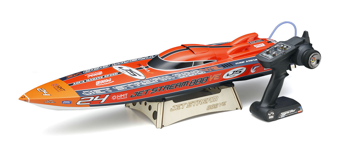Kyosho JETSTREAM 888 VE readyset  RTR boat