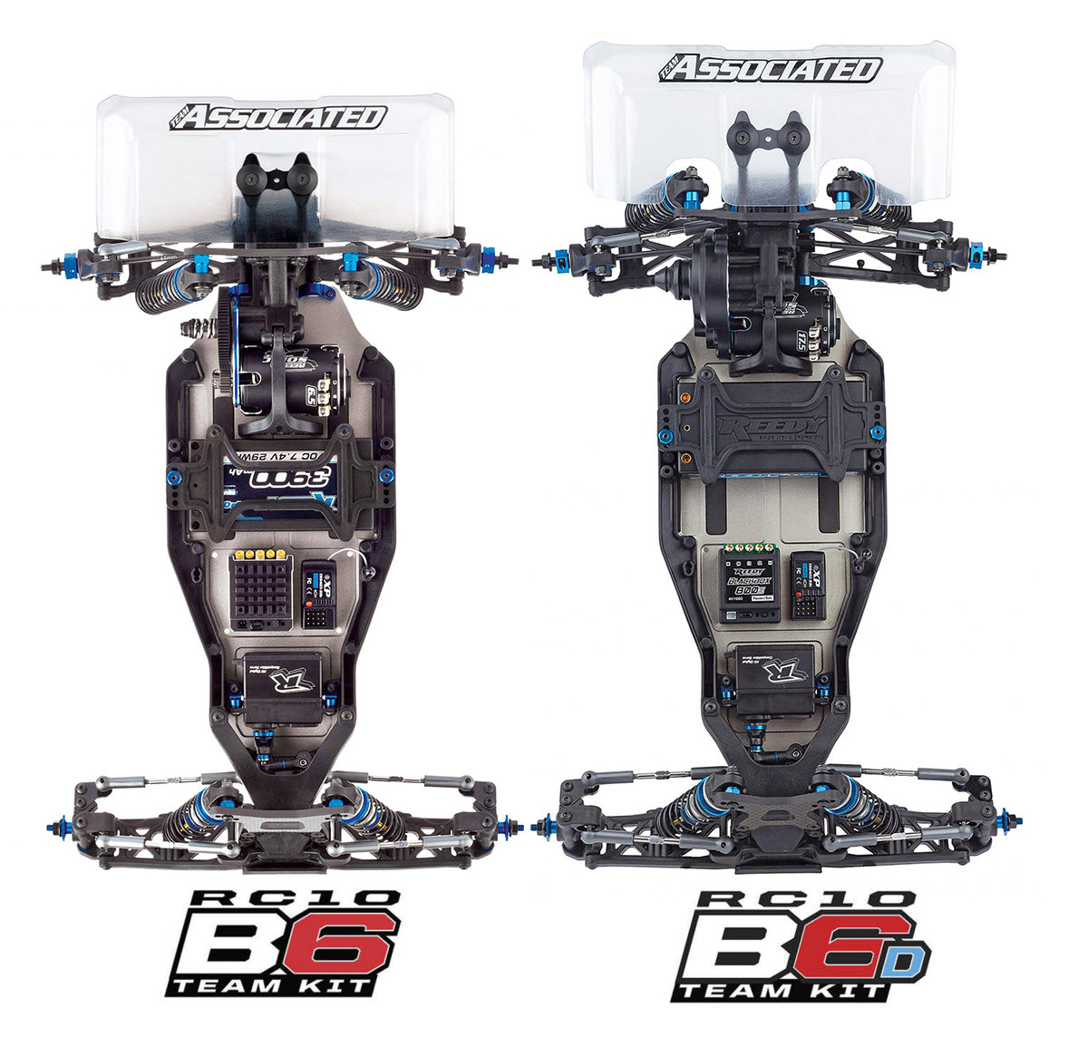 B6 B6D Chassis Compare