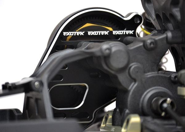 Exotek 22 3.0 Vented 'Flite' Motor Plate (2)