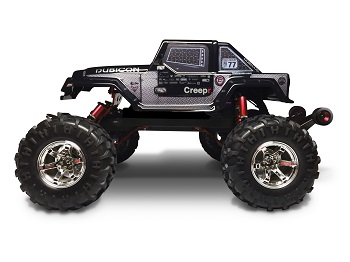 Jeep Thrills: FireBrand RC CREEPR Body