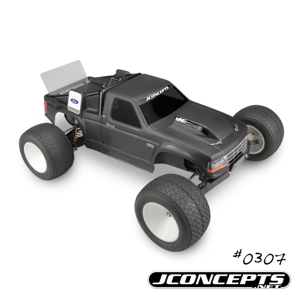 JConcepts Vintage 1993 Ford F-150 RC10T Team Truck Body (2)