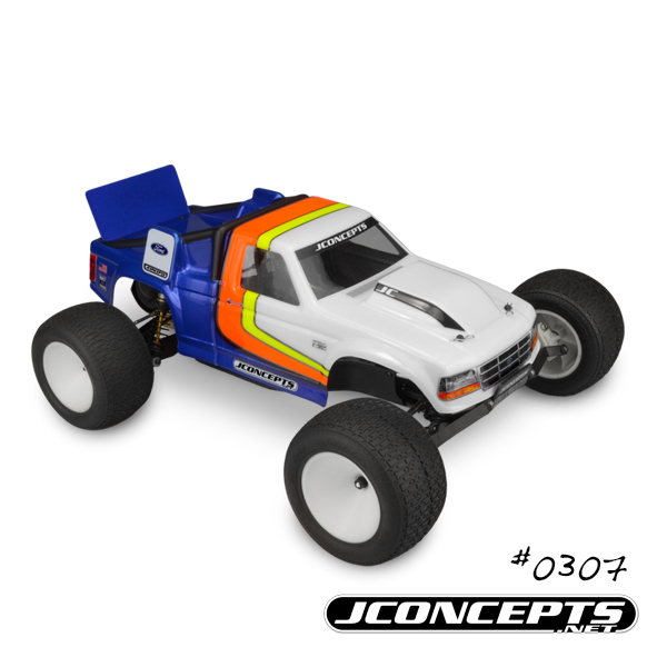 JConcepts Vintage 1993 Ford F-150 RC10T Team Truck Body (4)