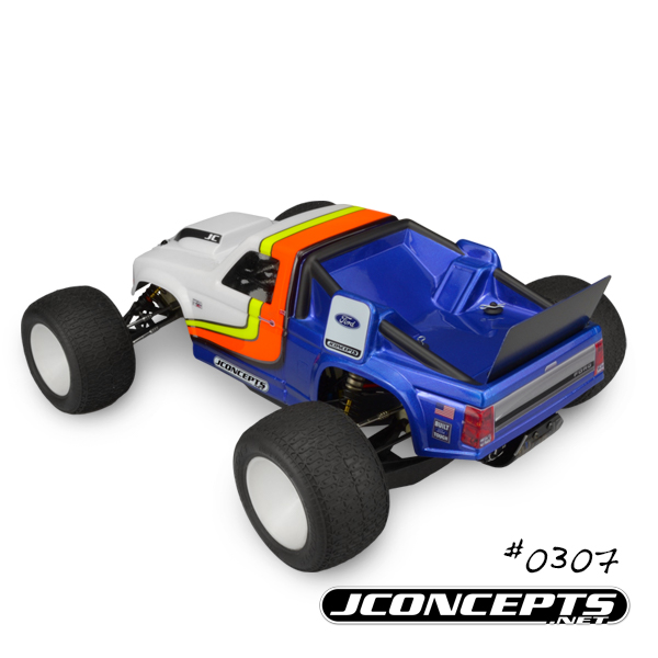 JConcepts Vintage 1993 Ford F-150 RC10T Team Truck Body (5)