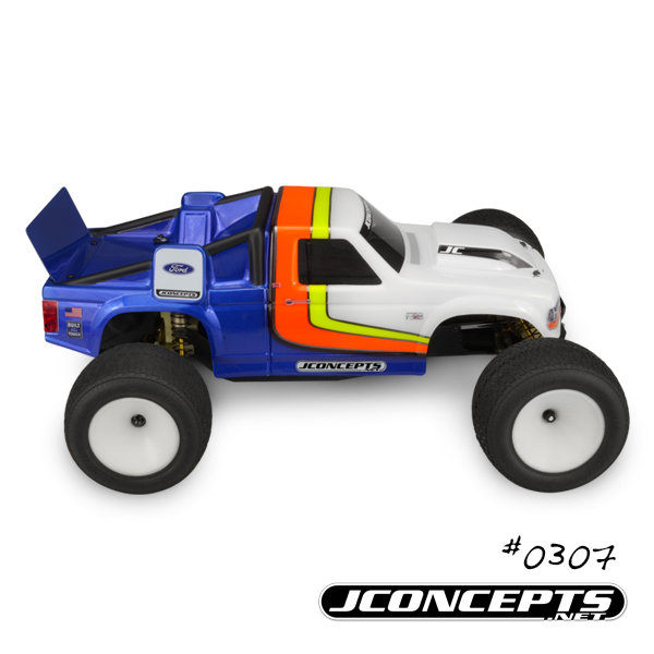 JConcepts Vintage 1993 Ford F-150 RC10T Team Truck Body (6)