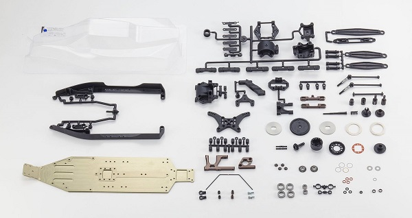 Kyosho RZ6 Shaft Drive Conversion Kit For The RB6 (3)