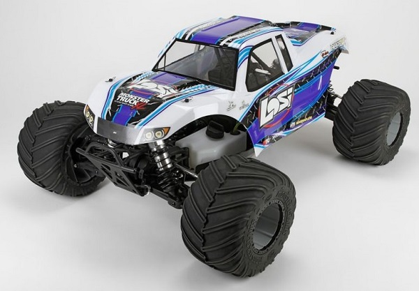 Losi RTR 1_5 Monster Truck XL 4WD With AVC (5)
