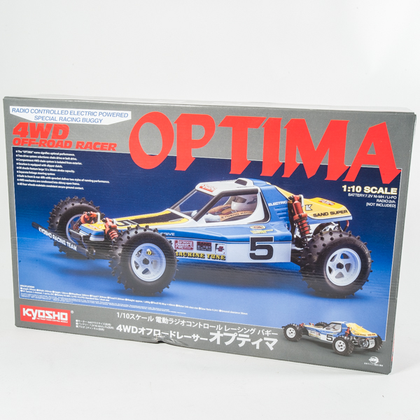 Kyosho Optima 4WD Buggy Re-Release Kit Unboxing