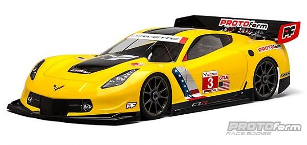 PROTOform Chevrolet Corvette C7.R Clear Body For 18 GT (Long Wheelbase)  (1)