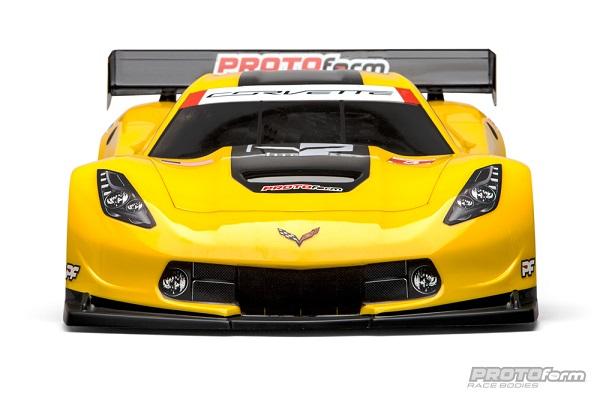PROTOform Chevrolet Corvette C7.R Clear Body For 18 GT (Long Wheelbase)  (2)