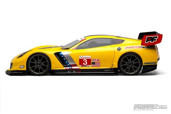 PROTOform Chevrolet Corvette C7.R Clear Body For 18 GT (Long Wheelbase)  (3)