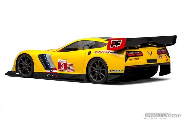 PROTOform Chevrolet Corvette C7.R Clear Body For 18 GT (Long Wheelbase)  (4)