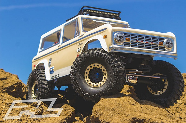Pro-Line 1973 Ford Bronco Clear Body (1)