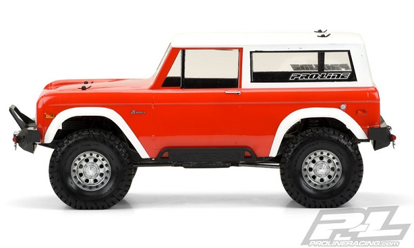 Pro-Line 1973 Ford Bronco Clear Body (3)