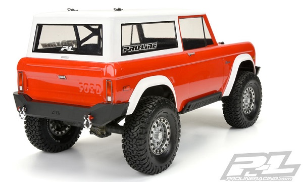 Pro-Line 1973 Ford Bronco Clear Body (4)