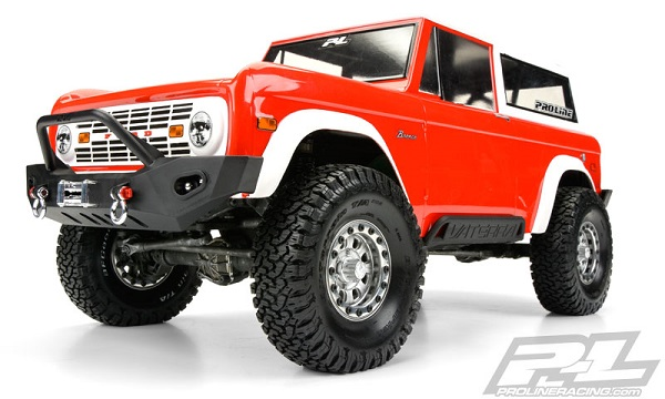 Pro-Line 1973 Ford Bronco Clear Body (6)