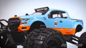 Pro-Line 2017 Ford F-150 Raptor Monster Truck Clear Body [VIDEO]