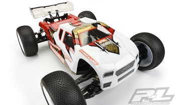 Pro-Line Enforcer Clear Body For The Team Associated RC8T3