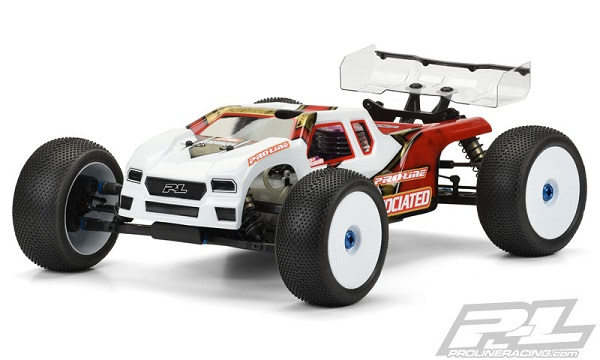 Pro-Line Enforcer Clear Body For The Team Associated RC8T3 (4)