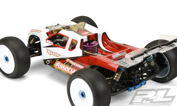 Pro-Line Enforcer Clear Body For The Team Associated RC8T3 (6)