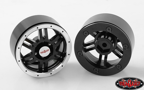 RC4WD Rugged 1.9 Beadlock Wheels (4)