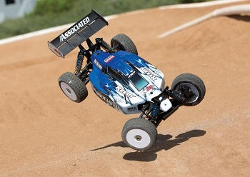 Team Associated RTR RC8.2e Brushless LiPo Combo With Big Bore Shock Kit Upgrade