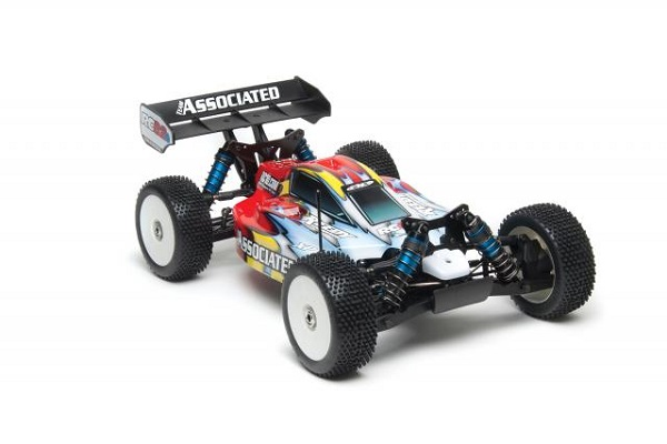 Team Associated RTR RC8.2e Brushless LiPo Combo With Big Bore Shock Kit Upgrade (4)