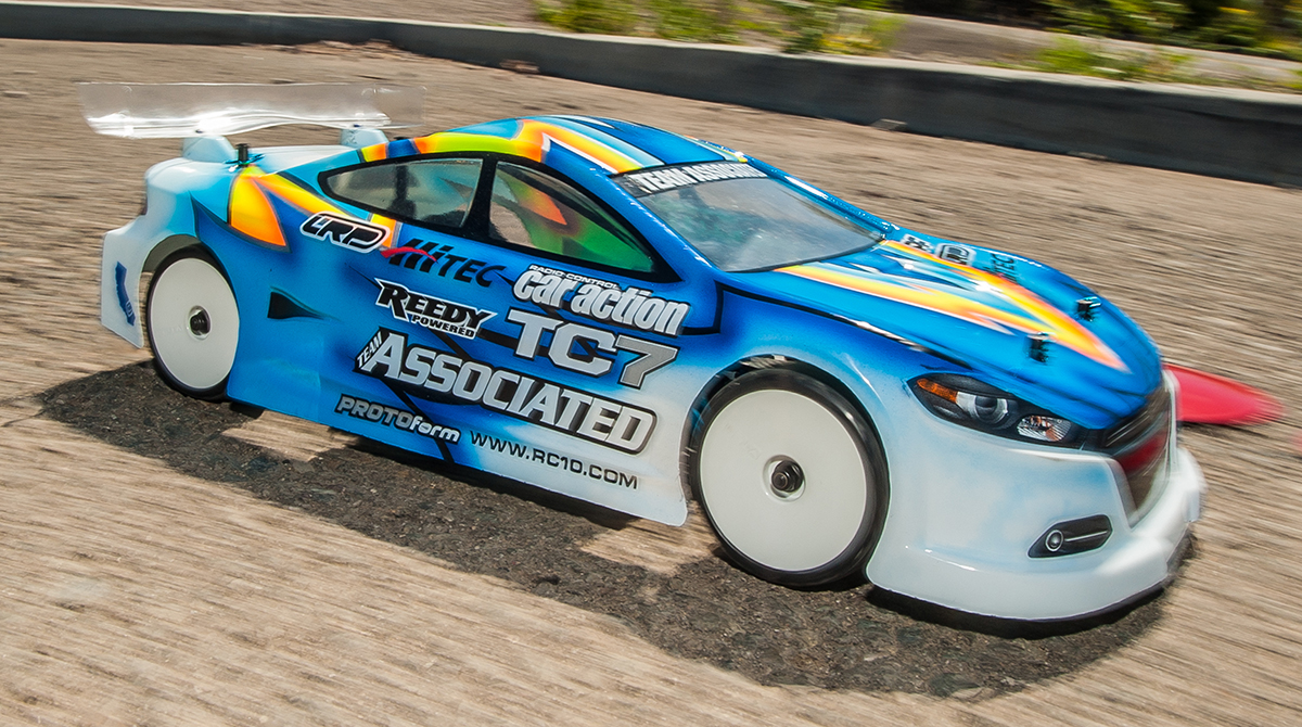 Team Associated TC7 action