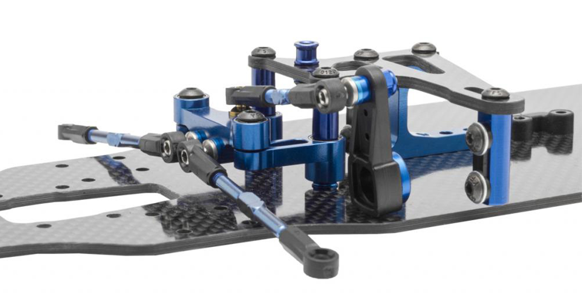 Team Associated TC7 steering