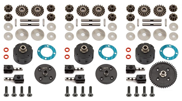 Team Associated V2 Differential Sets For The RC8B3 And RC8B3e (2)